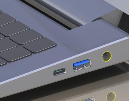USB 3.0 A ir C tipo lizdai